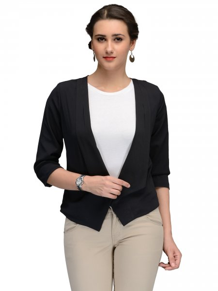 WOMEN BLACK JACKET
