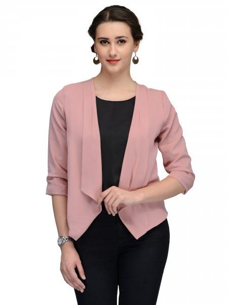 WOMEN  ROSE PINK JACKET